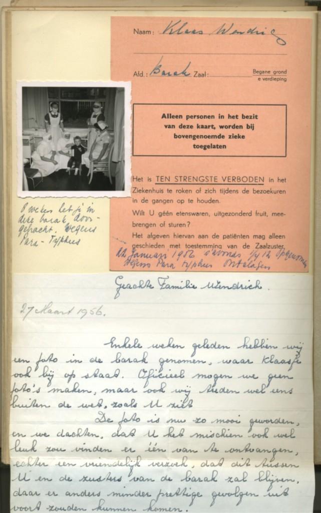 Brief voor Familie Wendrich