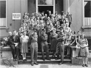Militair Gezag Enschede julil 1945 cijferskopie