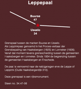 infobord Leppepaal