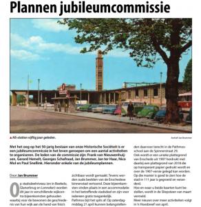 Plannen Jubileumcommissie