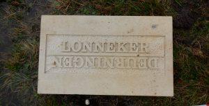 steen tussen het Doorninkse- en Lonnekerveld